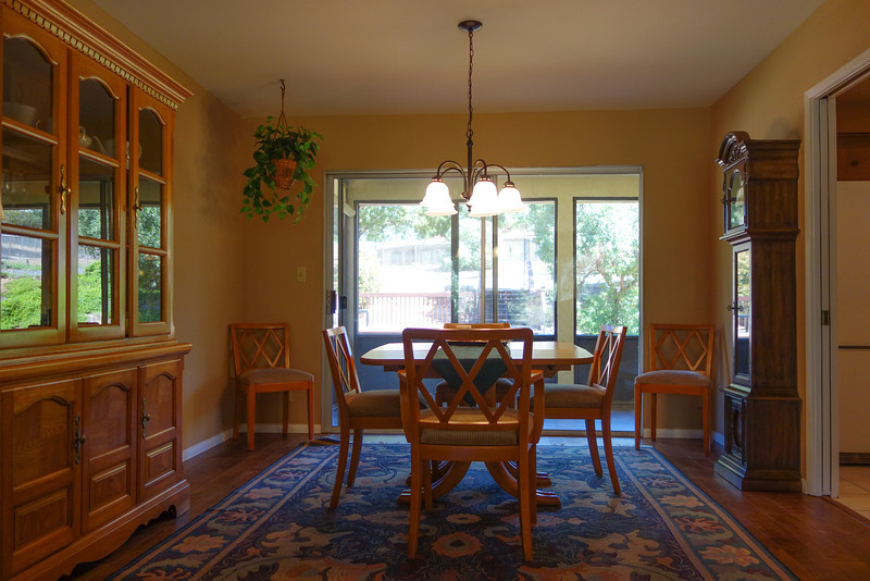 Dining room off the kitchen