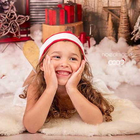 Ana, sesión navideña