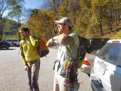 2011/11/05 Climbing Water Gap