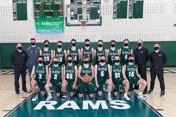 PR Basketball Varsity Team Photos