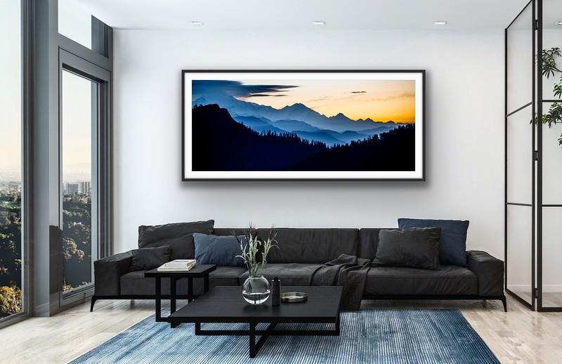 'Himalayan Sunrise' Fine Art Print Framed/Unframed