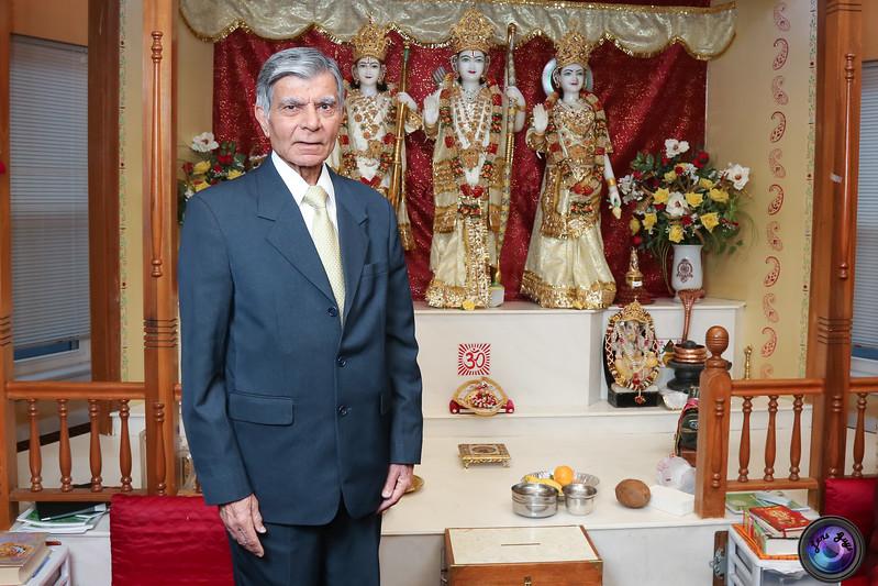 Anil Thakrar 75th birthday