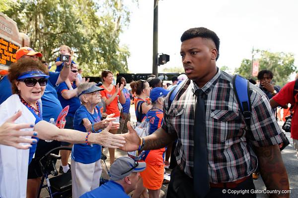 Florida Gators Football vs Colorado State Rams - Gator Walk -- 09/15/2018
