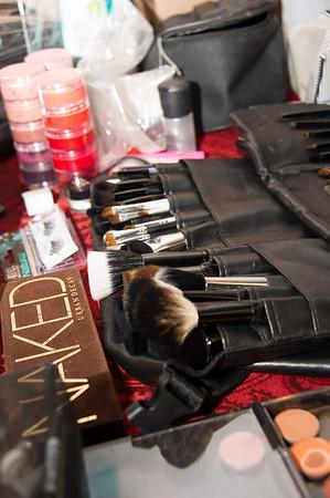 Jennifer Make-up Behind The Scenes
