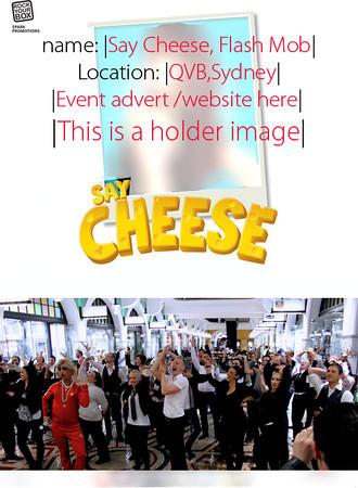 SAY CHEESE 'Vogue' Flash Mob :QVB