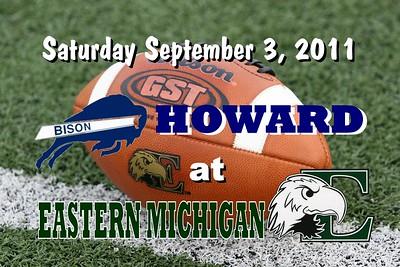 2011 Howard at Eastern Michigan (09-03-11)