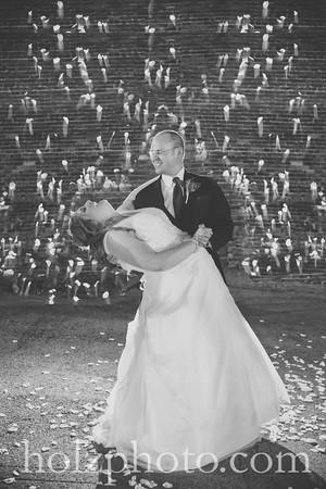 Heather & Josh B/W Wedding Photos