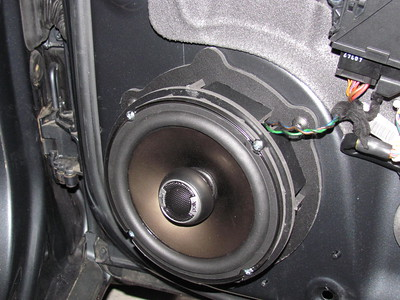 2004 Audi A4 Quattro Sedan Front Speaker Installation
