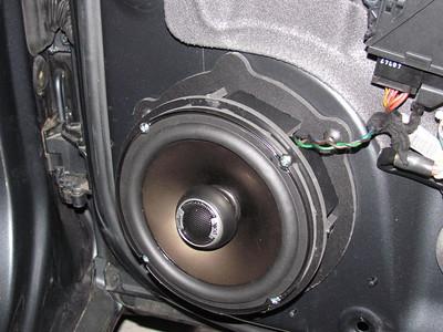 Audi Speaker Installations