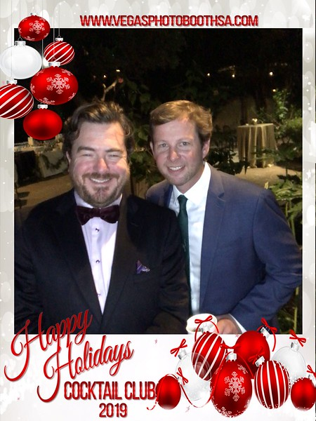 Cocktail Club Holiday Party 2019