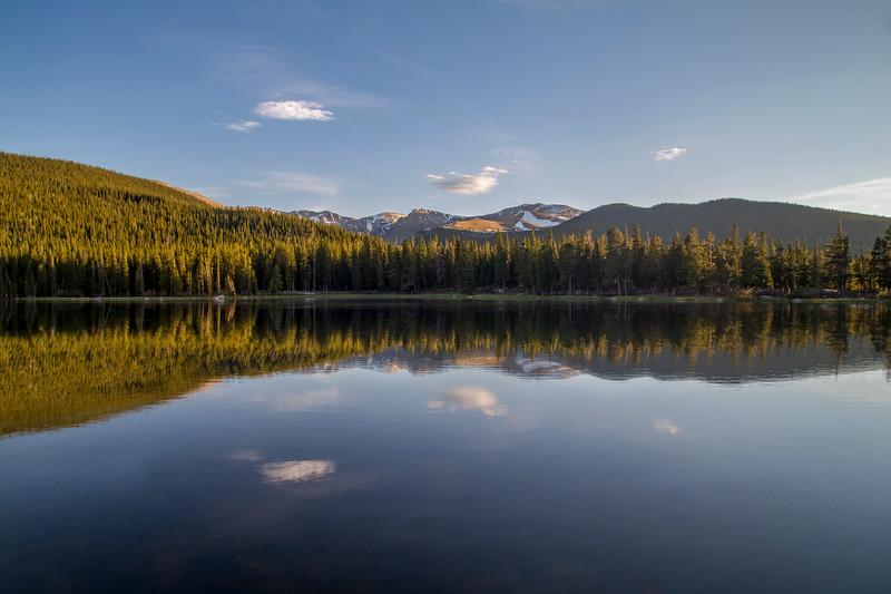 Echo Lake in Summer