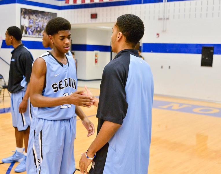 Basketball Varsity vs  Mansfield Seguin 11-11-13-9