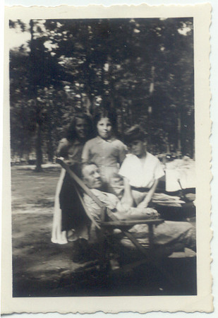 1941: Teresa Brennan, Gerard Frost, Freda Pupke Hampton.  Belmont Lake.