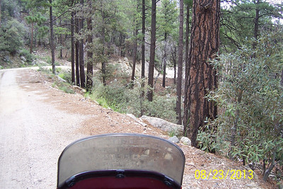Mt Lemmon with Street Riders