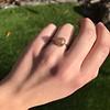 1.86ct Rustic Rose Cut Diamond Bezel Ring 2