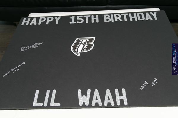 Lil Waah Birthday Celebration At Club Vibes (9.2.17)