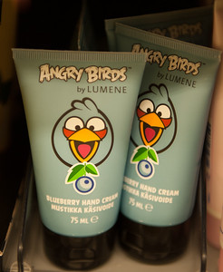 Angry Birds Blueberry Hand Cream