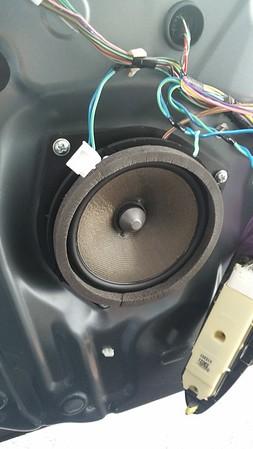 2013 Lexus ES350 Rear Speaker Installation - USA