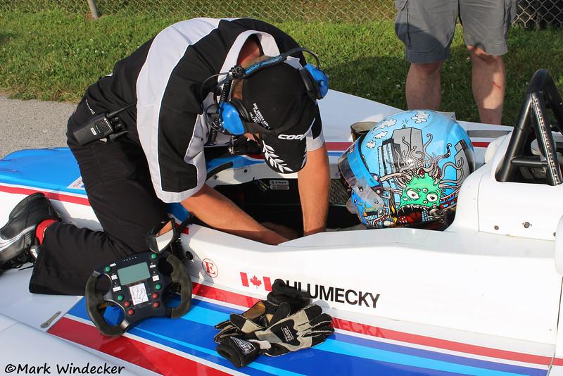 Michal Chlumecky,  Eurosport Racing