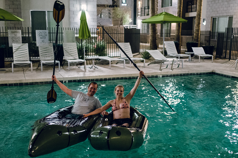 Pool Packrafting