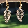 1.85ctw Victorian Leaf Component Earrings 6