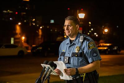 Ronald K. Davis Police Murder Scene, Saint Paul