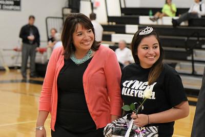BL Varsity Volleyball Senior Tribute (10/23/2012)