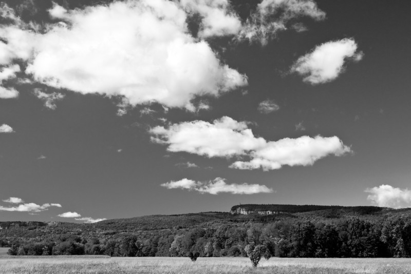The Shawangunk Ridge in summer