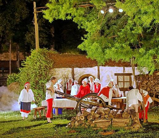 Scenofeerie de SEMBLANCAY - Scenes de village
