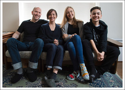 Emi's family in Tokyo