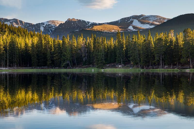 Echo Lake Evening