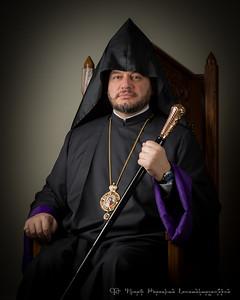 Bishop Abgar Hovakimyan - photo session 2015-03-28