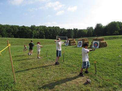 Frederick Stake cub scout camp daniel june 28, 2013