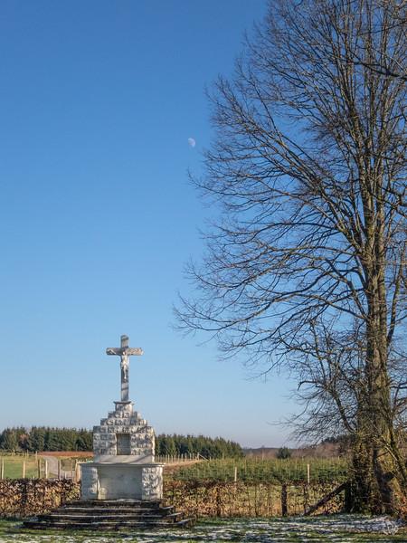 Près de la chapelle Notre-Dame de Bon-Secours