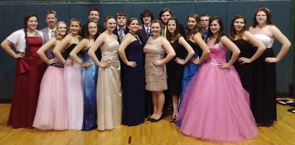 Tamaqua Students Participate in Schuylkill County Chorus Festival, Pottsville (2-27-2014)