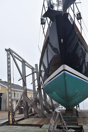 Ernestina and Boothbay Shipyard
