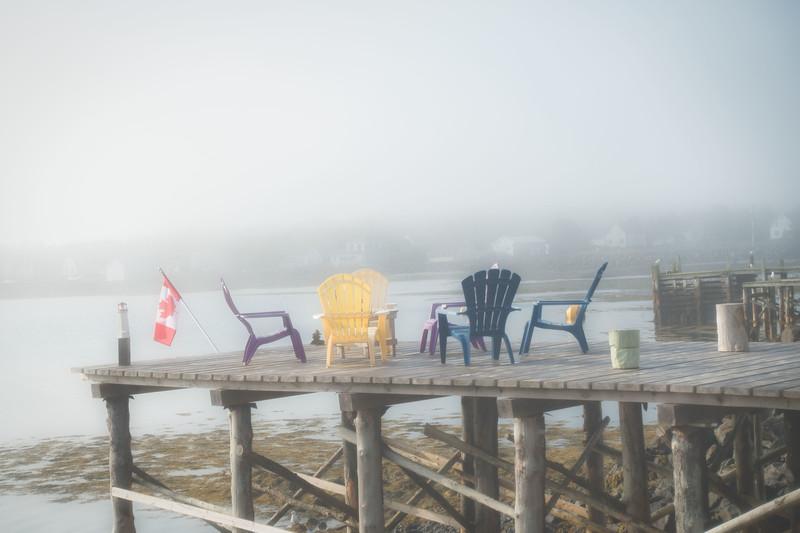 Sitting in the Fog