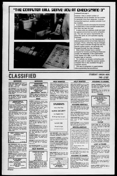 SoCal, Vol. 68, No. 19, October 13, 1975