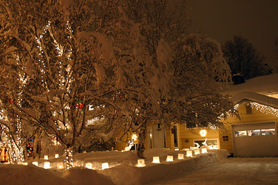 CHRISTMAS & WINTER IN ALASKA