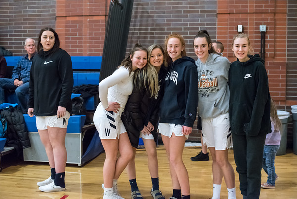 2018-19 Girls Varsity Basketball vs. Churchill