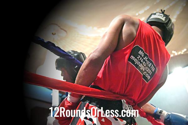 Bout 8 Jimmy Bland, Red Gloves, Fairfax Rec., Cleveland -vs- Octavius Webb, Blue Gloves, Gob Davis/Glenville Rec., Cleveland, 178 Lbs