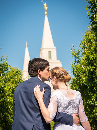 Kansas City Temple - Whitfield & Wright Wedding
