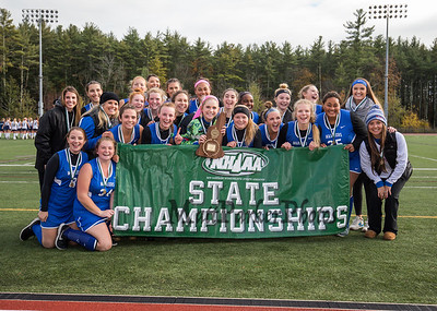 2018-10-28 WHS Girls Field Hockey vs Windham State Championships