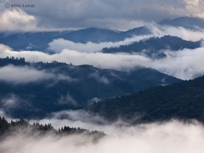 Looking over the Hills of Northern California