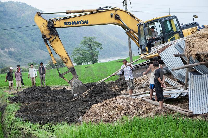 World Vets International Aid  for Animals in Sindhupalchok, Nepal.