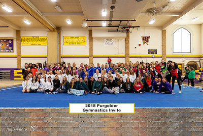 HS Sports - Purgolder Gymnastics Invite - Jan 13, 2018
