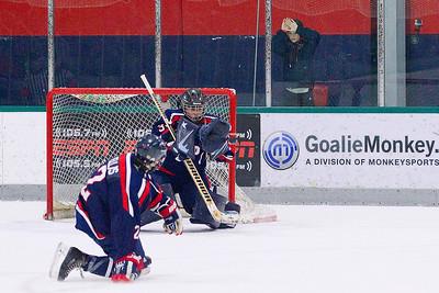 Traverse City West vs Bay Reps hockey