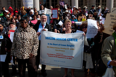 """Seniors Tell City Hall, Albany, Wall Street (etc.) -- Hands Off Our Senior Centers!"""""""