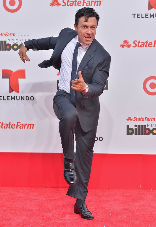 . MIAMI, FL - APRIL 25:  Beto Perez arrives at Billboard Latin Music Awards 2013 at Bank United Center on April 25, 2013 in Miami, Florida.  (Photo by Gustavo Caballero/Getty Images)
