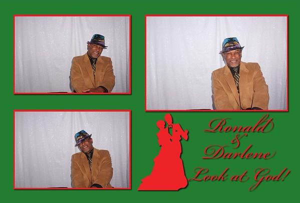 Ronald and Darlene's Wedding Photobooth